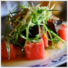 Crispy Pork Belly and Watermelon Salad | Recipe - Find ...